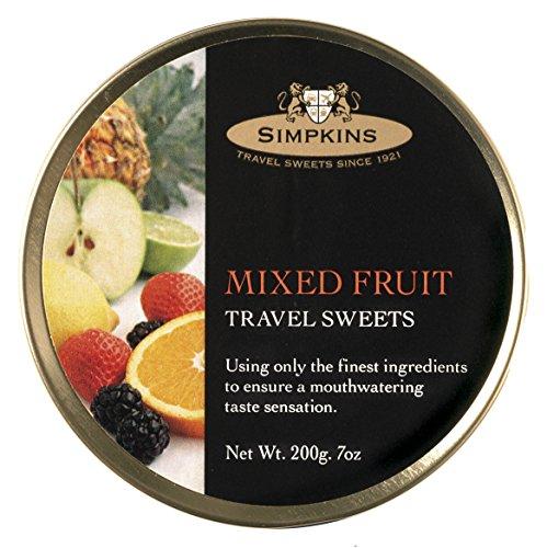 Preisvergleich Produktbild Simpkins Mixed Fruit Drops 200g,  1er Pack (1 x 200 g)
