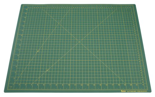 Darice 18-inch-by-24-inch grün Schneidematte, Güteklasse A (Quilten Tabelle)