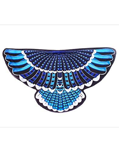 Dreamy Dress-Ups 64021 Wings, Flügel, Blue Jay, Vogel Blauhäher Cyanocitta cristata