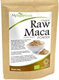 Organic Maca Powder (500g) | Highest Quality Available | By MySuperfoods