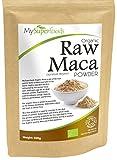 Bio Maca-Pulver (500g) | Höchste Qualität | Von MySuperfoods