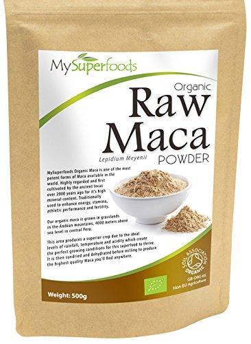 Maca biologica in polvere (500g) | miglior qualità disponibile | di mysuperfoods