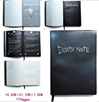 "Death Note Notebook with a Quiled Pen plus Nice ""L"" Necklace as Gift Set de Death Note"