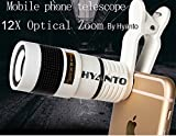 #8: 12X HD Zoom Mobile Phone Telescope Lens with Adjustable Clip Mobile Phone Lens with Adjustable Clip Holder