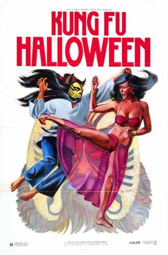 Kung Fu HallowEen Poster 01 Photo A4 10x8 Poster Print