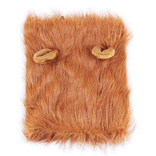 Haar Löwe Kostüm - GOOTRADES Großer Hund Netter Schoßhund Hut Kostüm Löwe Haar Umfang Kragen