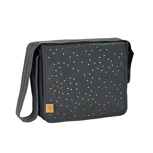 Lässig 1102002207 Wickeltasche Casual Messenger Bag , Triangle, grau
