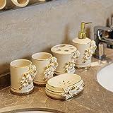 Continental 5 Stück Keramik Bad Ideen Badezimmer Badezimmer Hotel Käfernberg die einfache Hochzeit Geschenk Geschenk