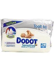 Dodot Sensitive Toallitas para Bebé - Paquetes de 54 unidades, 108 toallitas