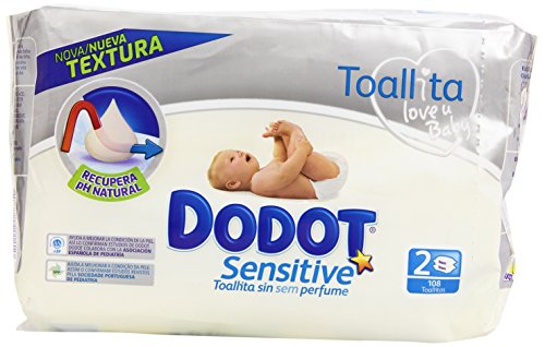 dodot-toallitas-para-piel-sensible-sin-perfume-2-paquetes-108-toallitas-pack-de-6-total-648-toallita