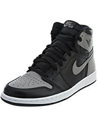 NIKE Herren Air Jordan 1 Retro High Og Gymnastikschuhe, Black, Medium Grey-White, divers