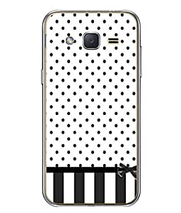 PrintVisa Designer Back Case Cover for Samsung Galaxy J2 J200G (2015) :: Samsung Galaxy J2 Duos (2015) :: Samsung Galaxy J2 J200F J200Y J200H J200Gu (Beautiful Pretty Dots looks trendy and sober)