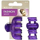 1 Stück Haarclip lila auf SB Karte Greifspange Haarklammern Haarschmuck , 2040
