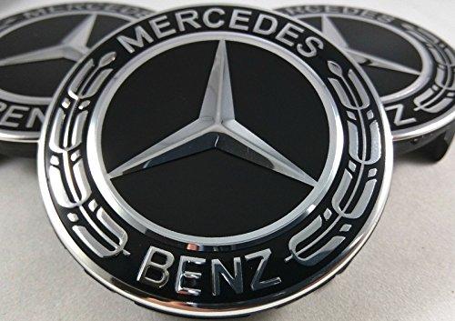 4-copricerchi-a-forma-di-stella-con-corona-di-alloro-nero-ricambio-per-Mercedes-Benz-coprimozzo-coprimozzo-coprimozzo-copricerchi-coperchio-decorativo-hub