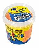 Feuchtmann Spielwaren 628.0501-3 Kinder Soft Knete, Lufttrocknende Modelliermasse, 150 g Orange