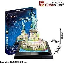3D PUZZLE LED ESTATUA DE LA LIBERTAD 37 PIEZAS