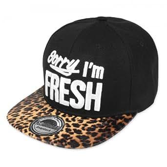 Original Snapback Sorry I'm Fresh Leopard