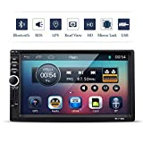 VETOMILE Autoradio Bluetooth, Autoradio 2 DIN 7' HD 1080P Touch Screen, GPS Navigazione Controllo...