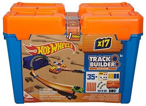 Hot Wheels Accessoires Boite Cascade, coffret de jeu pour petites voitures avec circuit et...