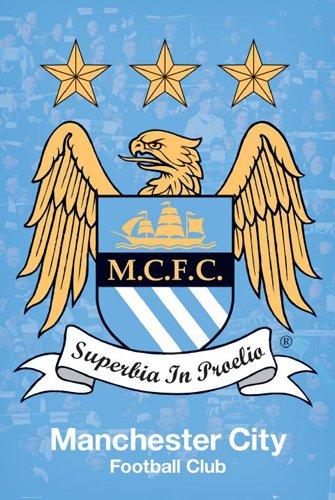 enorme-laminato-incapsulati-manchester-city-football-club-crest-poster-misura-914-x-61-cm-915-x-61-c
