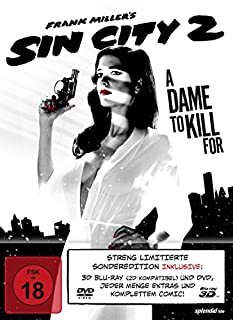 Sin City 2 - A Dame To Kill For (+ DVD) Mediabook [3D Blu-ray] [Limited Edition]