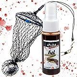 TheBigFish - Nylon Netz Futterkorb Aal-Feeder - 40g + Aal Lockstoff