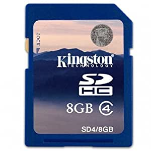 Kingston 8GB SDHC Memory Card For Canon Ixus 105 115HS 130 210 220HS 300HS 310HS 1000HS Camera