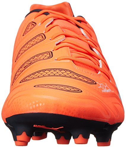 Puma Evopower 1.2 Firm Ground Scarpe da calcio Lava Blast-Wht-Total Eclipse