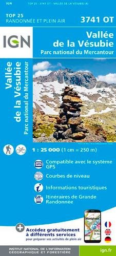 3741OT VALLEE DE LA VESUBIE par COLLECTIF