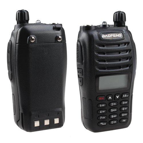 Baofeng uv-b6Radio Dual Band Zwei Wege schwarz - Zwei-wege-radio Fm