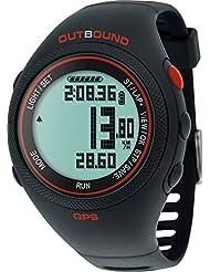 Outbound Run GPS Pulsuhr Fitness Uhr Aktivitätstracker Fitnesstracker Wasserbeständig