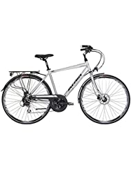 citybike atala Discovery s4d, 24 vitesses, couleur gris Ultralight – Anthracite Taille L (175 cm – 190 cm)