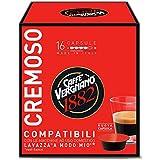 Caffè Vergnano Cremoso Capsules Compatible avec Lavazza à Modo Mio