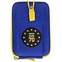 Sub70 Golf Laser Range Finder Hard Shell Tour - Funda para Bushnell, Blue - Team Europe