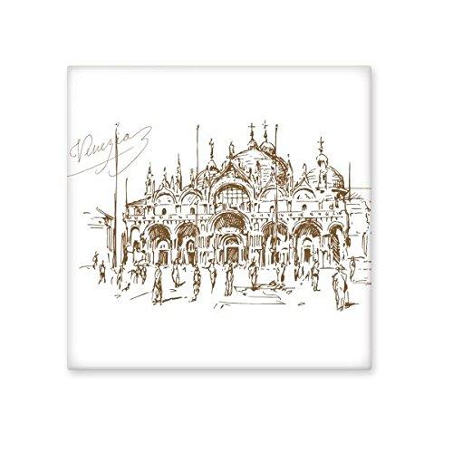 Die venezianische Kirche venezianischen Landmark Muster Keramik Bisque Fliesen für Dekorieren Zimmer Küche Keramik Fliesen Wand Fliesen Large - Venezianische Muster