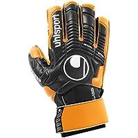 uhlsport Ergonomic Soft SF Goal Keeper's Gloves Multi-Coloured Black/Orange