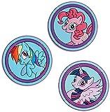 crocs My Little Pony SS17 3-pack Schuhanhänger, Mehrfarbig (-), Einheitsgröße