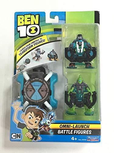 Ben 10 Omni Launch 4-Arme und Wildvine