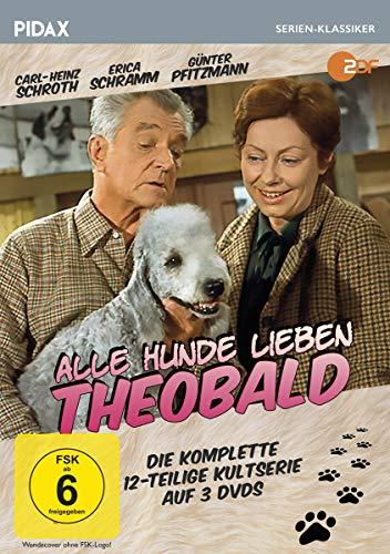 Alle Hunde lieben Theobald / Die komplette 12-teilige Kultserie (Pidax Serien-Klassiker) [3 DVDs]