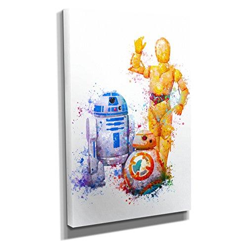 s - Kunstdruck auf Leinwand (60x90 cm) zum Verschönern Ihrer Wohnung. Verschiedene Formate auf Echtholzrahmen. Höchste Qualität. ()