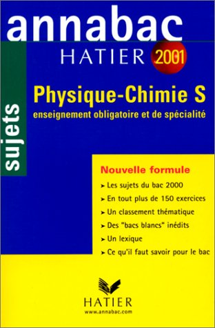Physique, chimie, S