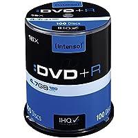Intenso DVD+R 16x Speed 4,7GB (100er Spindel DVD+Rohlinge)