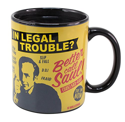 "50Fifty - Tazza ""Better Call Saul"", cambia con il calore"