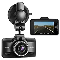 Vikcam JVMAC Dashcam 1080P Full HD Car Dash Cam DVR Camera with 2.7 Inch Display and 150 Degree Wide Angle Lens Electronic Video Camera for Vehicle Recorder with Night Vision, G-Sensor, Motion Detector, Park Mode and Loop Recording