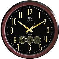 ساعة حائط من دوجانا, اسود, زجاج, DWG055