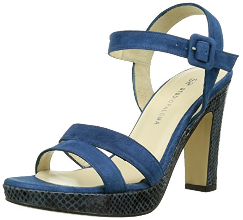 Studio Paloma19828 - Sandali Donna Blu (Bleu (Ante Azul/Shangay Azul))