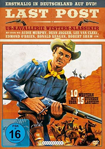 Last Post - US Kavallerie Western-Klassiker Box [10 DVDs] - Wayne John Collection Western