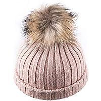 HHF Caps e Cappelli Cappello Femminile Moda Autunno Inverno Cappello di  Lana Moda Carino (Color 07487fbb17e9