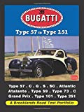 Bugatti Type 57 to Type 251 A Brooklands Road Test Portfolio