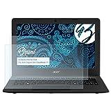 Bruni Schutzfolie kompatibel mit Acer Aspire One Cloudbook 11 Folie, glasklare Bildschirmschutzfolie (2X)